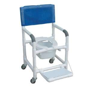 Wheeled Shower/Commode Chair Deluxe Wheeled Shower/Commode Chair