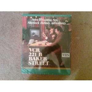 VCR 221 B Baker Street   Sherlock Holmes Adventures Toys
