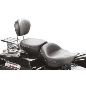 Mustang Sissy Bar Pad   Smooth, Black Studs 75320