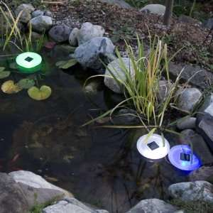 Solar Powered Floating UFO Light  Color Changing LED