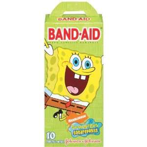 Band Aid Childrens Spongebobsquarepants Adhesive Bandages