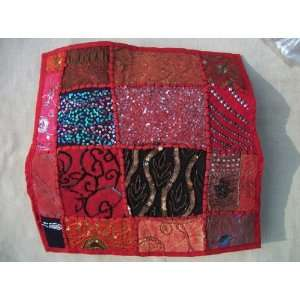 Decorative Throw Pillow Cover, Extensive Hand Embroidery   17