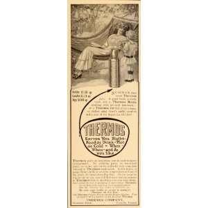1914 Vintage Ad Thermos Bottle Jug Jar Carafe Hammock