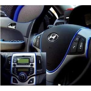 Exterior Decoration Moulding Trim Strip line Sticker Blue Automotive