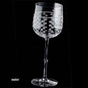 gemme water glass set of 6 by salviati  Kitchen & Dining