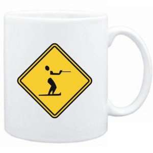 Mug White  Water Skiing SIGN CLASSIC / CROSSING SIGN  Sports