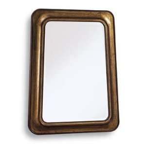PC6304   Hand carved Wood Frame with 1 Beveled Mirror