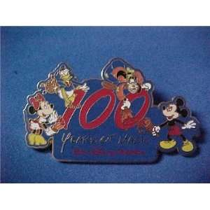 /WDW 100 Years of Magic Mickey FAB 4 Painting Pin