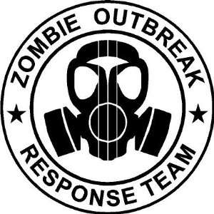 Zombie Outbreak Style #2 Team Vinyl Wall Art Decal
