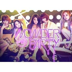 Wonder Girls   Wonder Party, Mini Album K POP Wonder Girls Music