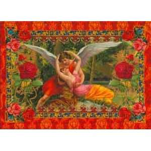 Valentines Day Greeting Card   Wings of Love