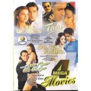 Taal / Aa Ab Laut Chalen / Aur Pyar Ho Gaya / Dil Ka Rishta   4 Dvds