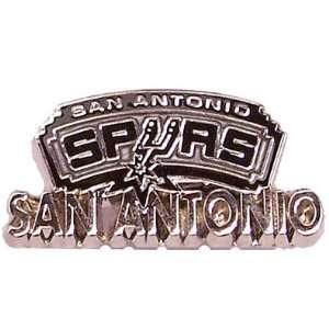 San Antonio Spurs Logo w/ Wordmark Pin