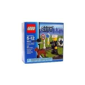 Lego City Set #5612 Exclusive Mini Figure Police Officer  Toys