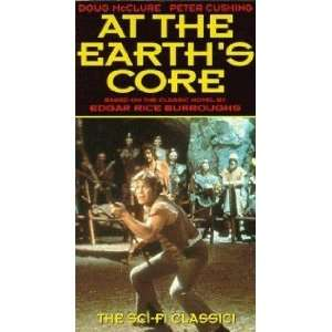 At the Earths Core [VHS] Doug McClure, Peter Cushing