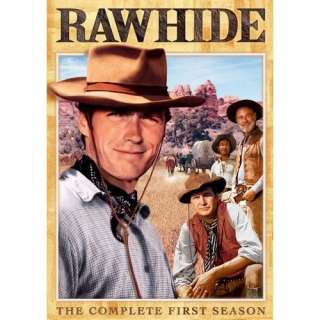 Rawhide   The Complete First Season Eric Fleming, Clint