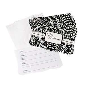 Black & White Wedding Invitations   Invitations & Stationery