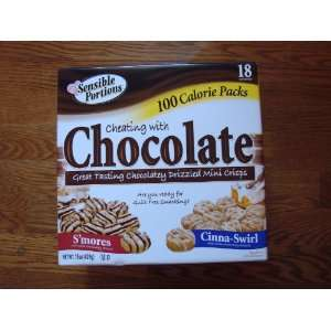Sensible Portions Cheating with Chocolate 100 Calorie Packs Box of 18