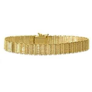 14K Yellow Gold Bolla Bracelet Jewelry