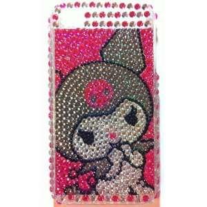 Cute Devil Crystal Diamond Bling Rhinestone Protector Hard