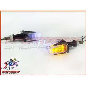 Black Sting LED Motorcycle Turn Signals Tail Tidy Automotive