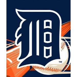 Detroit Tigers 50x60 Big Stick Super Plush Throw Sports