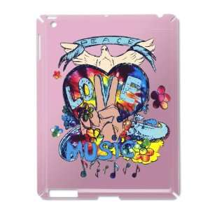 Case Pink of Peace Love Music   Peace Symbol Sign