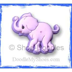 Moments Elephant Jungle Buddy Shoe Doodle Shoe Charm fits Crocs Shoes