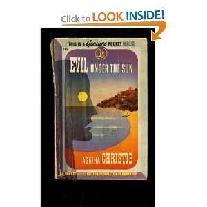 Evil under the sun, (Pocket book) Agatha Christie Books