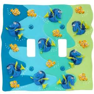 Disney Finding Nemo   2 Toggle Wallplate   CLEARANCE SALE
