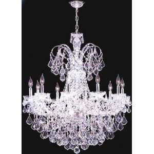 Maria Elena Ten Light Crystal Chandelier by James R. Moder
