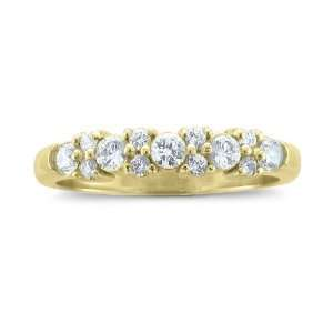 55 cttw) Certificate of Authenticity: My Love Wedding Ring: Jewelry