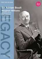 Vaughan Williams   Symphony 8/Job: A Masque For Dancing DVD Cover Art