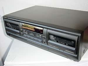Technics Stereo Dual Cassette Deck Player/Recorder,RS TR272