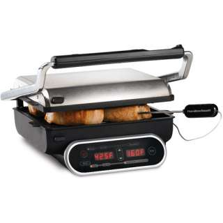 Hamilton Beach 25217 Set n Forget Probe Electric Grill   Walmart