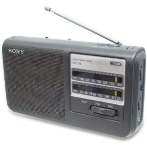 Sony FM AM 2 Band Portable Radio Health & Personal Care