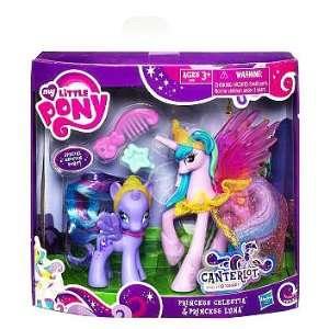 Little Pony Exclusive 2Pack Canterlot Princess Celestia Princess Luna