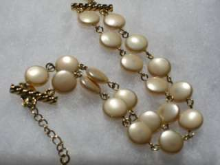PREMIER DESIGNS jewelry bracelet PEACHES & CREAM Coin Pearls 7   8