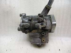 vintage snowmobile keihin carburetor 490A polaris