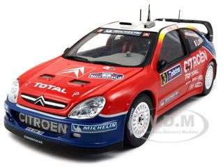 Citroen Xsara WRC #3 S.Loeb/D.Elena 2004 World Champion Diecast Car