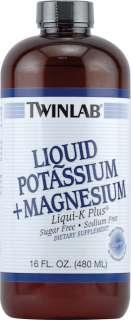 Twinlab Liquid Potassium plus Magnesium    16 fl oz   Vitacost