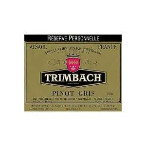 Pinot Gris Reserve Personelle 2004 750ML Grocery & Gourmet Food