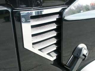 HUMMER H2 2003 2006 2PC STAINLESS COWL VENT COVERS
