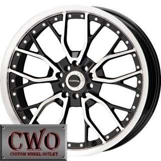 15 Black LM Wire Wheels Rims 5x100/5x114.3 5 Lug Eclipse Altima Jetta