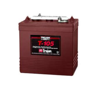 Trojan T 105 6V 225Ah Flooded Lead Acid GC2 Deep Cycle Battery