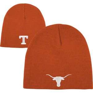 NCAA   Texas Longhorns Dark Orange Team Logo Knit Hat