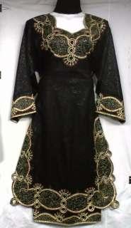 Women African Clothing Dress Skirt Suit Black Gold Red NotCom M L XL