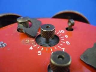 Vintage Mickey Mouse Wind up Bradley Alarm Clock Works