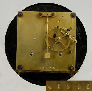 Antique German wall clock at 1880 / 1900