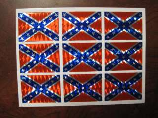 each flag is 1 1/4 x 1 . 9 flags per sheet.Bumper sticker,for car